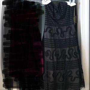 BCBGMaxAzria Tea Length Dress